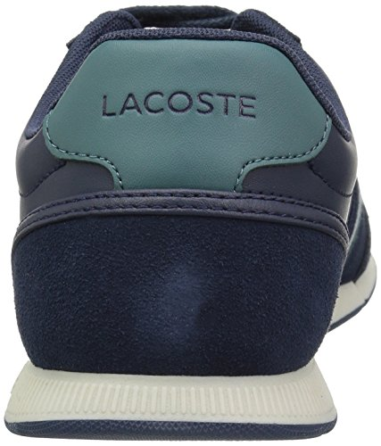 Lacoste Men's Menerva Sneakers Nvy/Green Suede cheap manchester great sale Cjot7