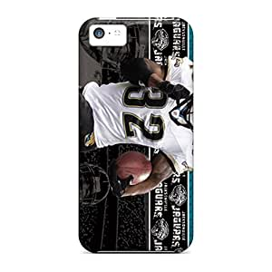 Excellent Hard Phone Cover For Iphone 5c With Provide Private Custom High-definition Jacksonville Jaguars Pictures DrawsBriscoe