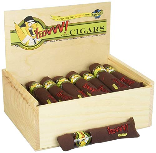 Yeowww! Catnip Cigars Box 24 count by Yeowww!