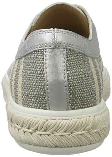 Derby de Zapatos Grigio Mujer para Lunar Peperosa 334 Cordones Gris qPIT7nw