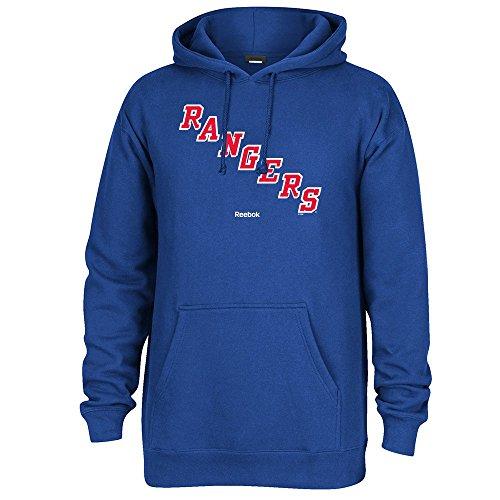 (Reebok NHL Men's Jersey Crest Pullover Hoodie, New York Rangers)