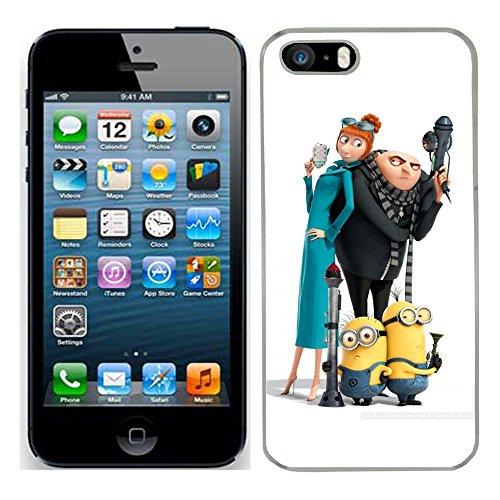 Despicable Me Moi moche et méchant Film Minions cas adapte iphone 5s couverture coque rigide de protection (19) case pour la apple i phone 5 s cover Skin