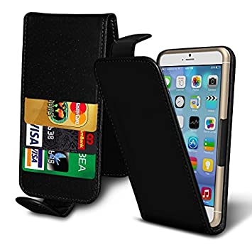 more photos 5a5a7 015c7 ( Black ) Case for Argos Alba 5 Inch Case cover pouch Thin Faux Leather  Spring Clamp Adjustable Flip Case cover Skin with Credit/Debit Argos Alba 5  ...