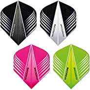 Hardcore Selection Pack Extra Thick Standard Dart Flights & Red Dragon Checkout