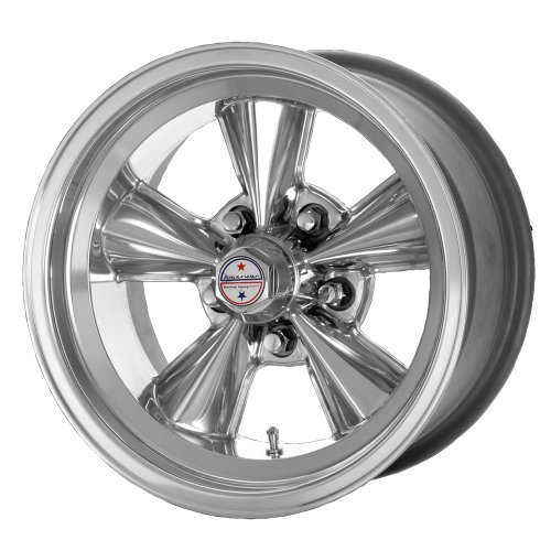 American Racing Hot Rod T71R VNT71R Polished Wheel (15x8
