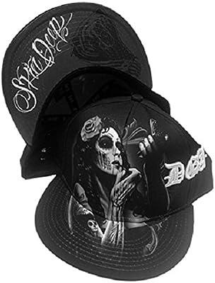 DGA del día de los Muertos Rockabilly Arte sublimación Gorra ...