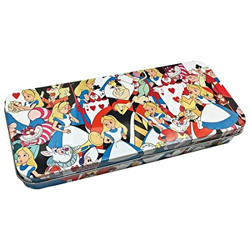 Disney Metallic Tin Pen Case (Alice)