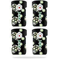 Skin For DJI Inspire 1 Drone Battery (4 pack) – Nighttime Skulls | MightySkins Protective, Durable, and Unique Vinyl Decal wrap cover | Easy To Apply, Remove, and Change Styles | Made in the USA