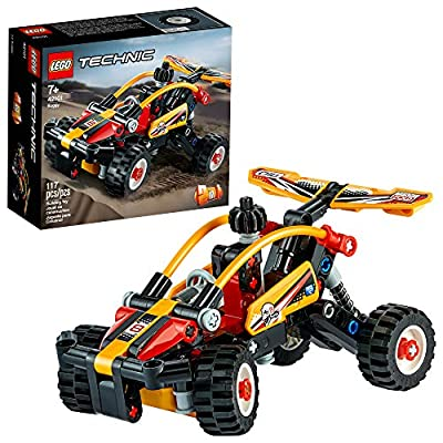 LEGO Technic Buggy 42101 Dune Buggy Toy Building Kit, Great Gift for Kids Who Love Racing Toys, New 2020 (117 Pieces): Toys & Games