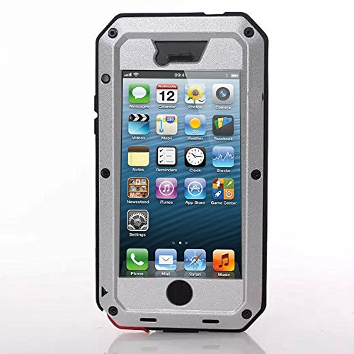 New Waterproof Shockproof Aluminum Gorilla Glass Metal Military Heavy Duty Armor Bumper Cover Case f - http://coolthings.us