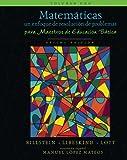 img - for Matem ticas: un enfoque de resoluci n de problemas para maestros de educaci n b sica: Volumen uno (Matem ticas: resoluci n de problemas) (Volume 1) (Spanish Edition) book / textbook / text book
