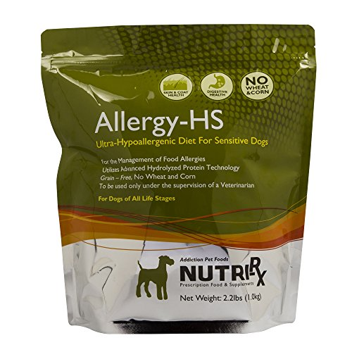 Addiction Pet Foods Af71230 Nutrirx Allergy Hs...