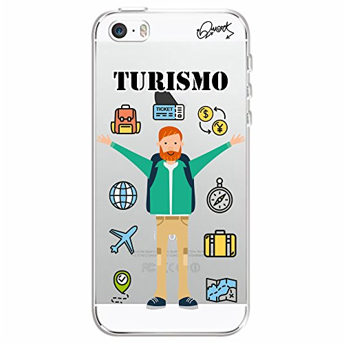 Capa Personalizada para Apple iPhone 5s - TURISMO MASC - Quark