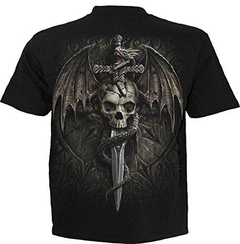 Draco Skull - T-Shirt