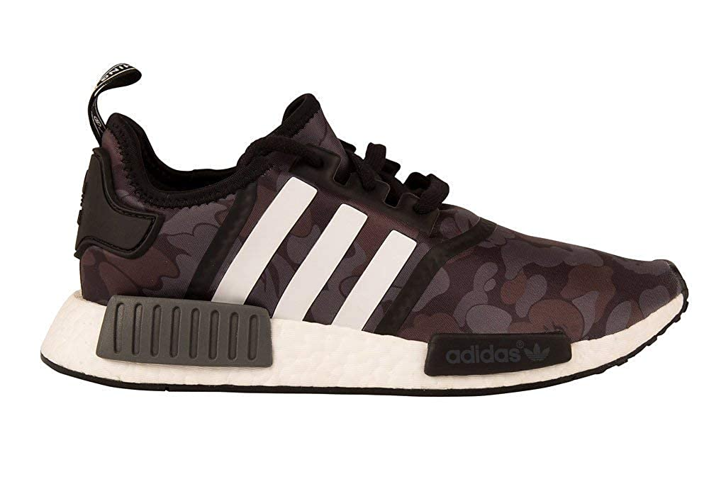 14a75e911 adidas X Bape NMD R1 Trainers Black Camo BA7325 Limited Edition 100%  Genuine Guaranteed UK 4