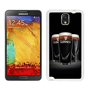 Samsung Galaxy Note 3 Cover Case,Guinness 6 White Cool Customized Samsung Galaxy Note 3 Case