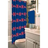 The Northwest Company NCAA Ole Miss Shower Curtain