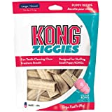 KONG Puppy Stuff'N Ziggies Large Dog Treat, 8-Ounce