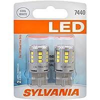 SYLVANIA 7440 T20 White LED Bulb, (Contains 2 Bulbs)