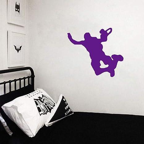 zhuziji Coolest Wall Sticker PVC Paracaídas Sala de Estar El ...
