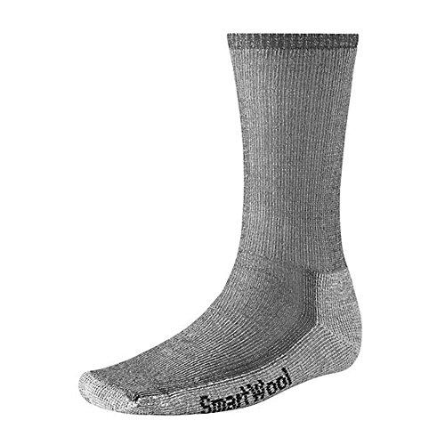 Smartwool Unisex Hike Sock Size:10-13/Shoe Size: 6-12 Crew Gray LG (Men's Shoe 9-11.5, Women's Shoe - Smart Socks Men