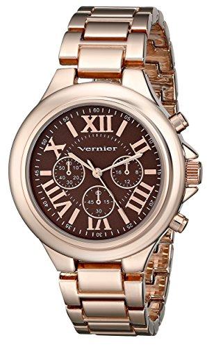 Vernier Women's VNR11157RG Vernier Rose Gold-Tone Watch by Vernier