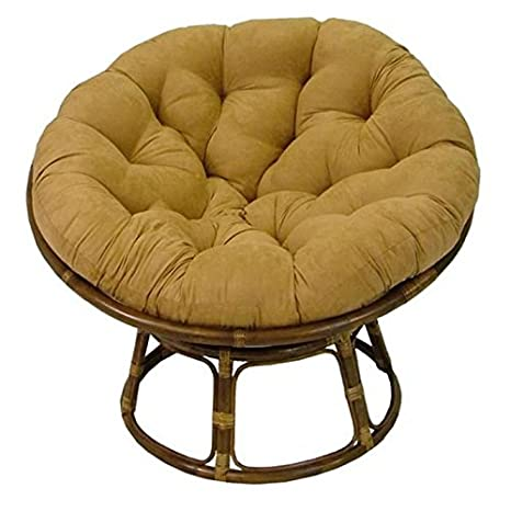 Groovy Rattan Papasan Chair With Cushion Dailytribune Chair Design For Home Dailytribuneorg