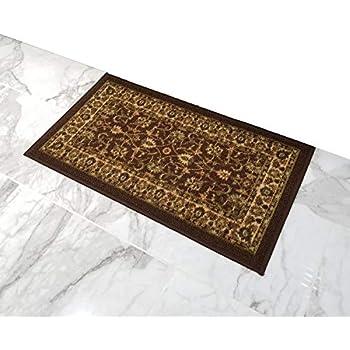 Amazon Com Doormat 18x30 Ivory Medallion Kitchen Rugs