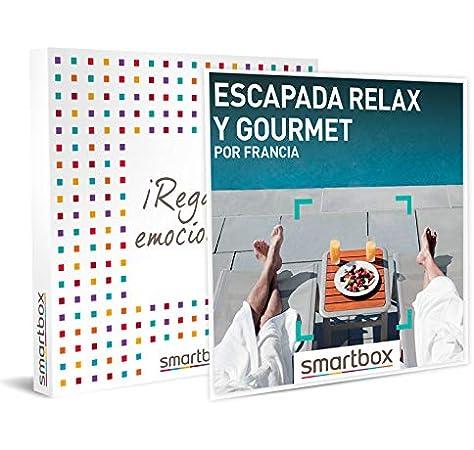 SMARTBOX - Caja Regalo - Escapada Relax y Gourmet por Francia - Idea de Regalo - 1 Noche con Desayuno, Cena y Acceso a SPA para 2 Personas: Amazon.es: Deportes y aire libre