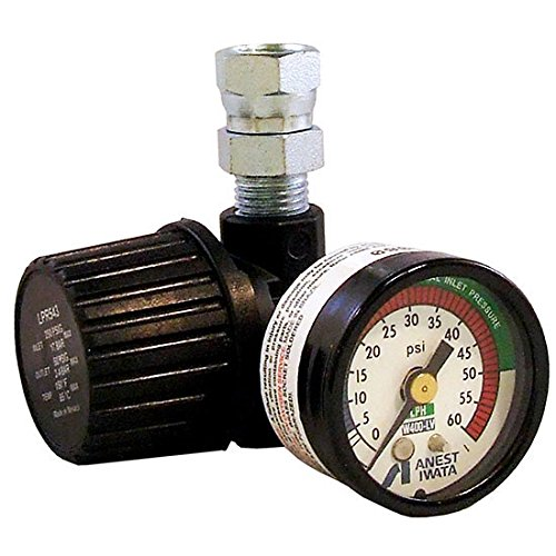 Iwata IWA8131B Compact Diaphragm Air Regulator