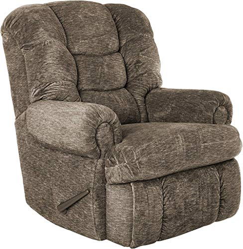 """Lane Stallion Big Man (Extra Large) Comfort King Wallsaver Recliner in Gladiator Cafe'.(Brown) Made for The Big Guy Or Gal. Rated for Up to 500 Lbs. Extended Length. 79"""". Seat Width. 25"""". 4501L."""