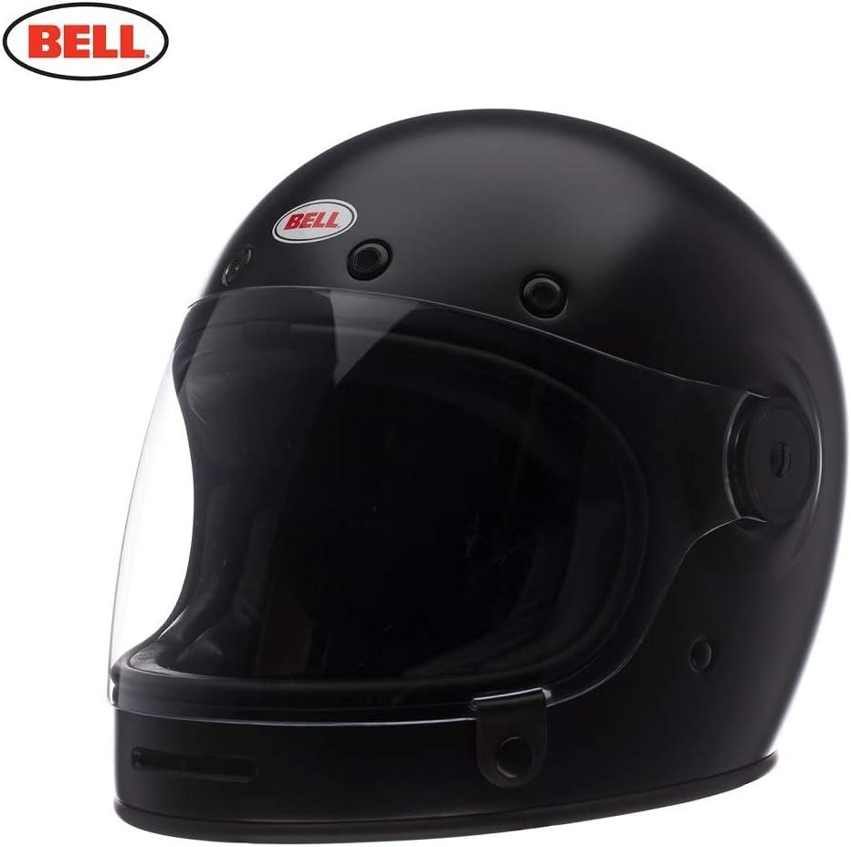 BELL HELMET BULLITT DLX SOLID BLACK MATT S