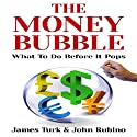 The Money Bubble Audiobook by John Rubino, James Turk Narrated by Larry Wayne