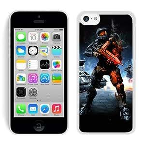 halo battlefield White Individual Custom iPhone 5C Case