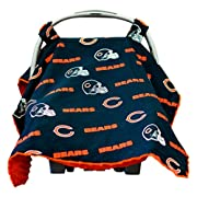 Baby Fanatic Car Seat Canopy, Chicago Bears