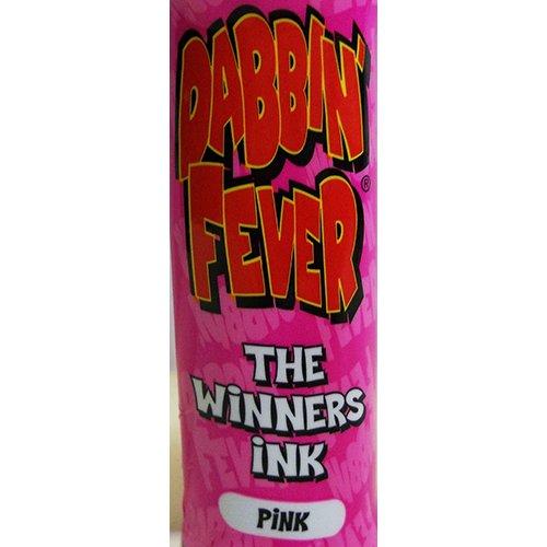 One Dozen 3oz Dabbin' Fever Pink Bingo Dauber