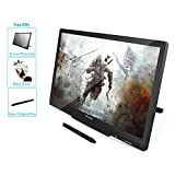 Huion GT-220 V2 Black Graphics Tablet with Display 21.5 Inch Interactive Drawing Monitor Display IPS Panel HD Resolution(1920x1080)