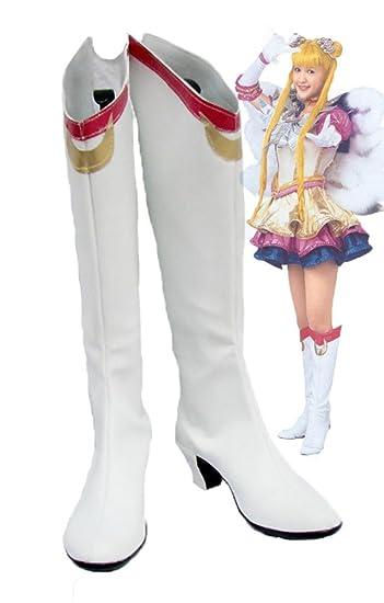 Sailor Moon Musical Usagi Tsukino Cosplay Shoes Boots Custom Made
