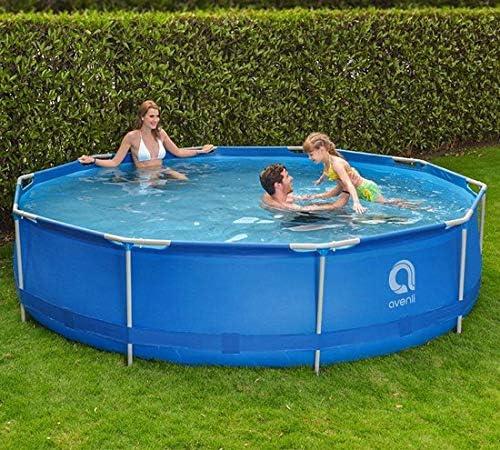 con filtros y Bomba Viking Sports Avenli Frame Pool Piscina Desmontable Tubular Avenli Pool 305x76 cm