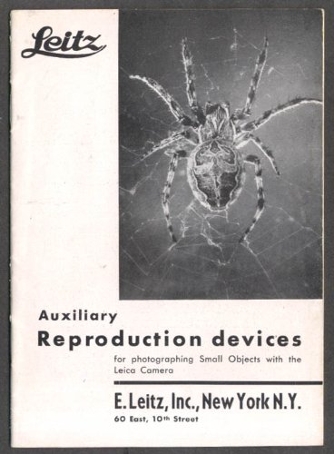 Leitz Auxiliary Reproduction Devices booklet 1933 (Auxiliary Device)