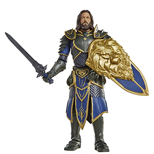 "Warcraft 6"" Lothar action Figure With Accessory"