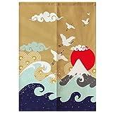 LUNA Sushi Bar Decoration Japanese Curtains Door Hallway Hanging Curtains (A8)