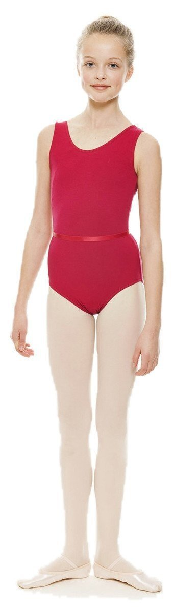 ISTD Plum Ballet Sleeveless Cotton Lycra Leotard Childrens & Ladies All Sizes KDC036 By Katz Dancewear