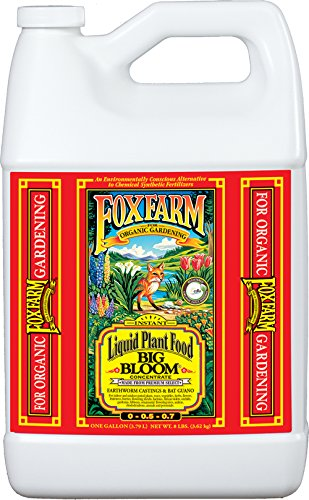 - Fox Farm FX14003 1-Gallon FoxFarm Big Bloom Liquid Concentrate 0-0.5 - 0.7