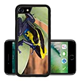 MSD Premium Apple iPhone 7 Aluminum Backplate Bumper Snap Case iPhone7 IMAGE ID 34571989 poison dart frog Dendrobates tinctorius from the Amazon rain forest near the border of Suriname and