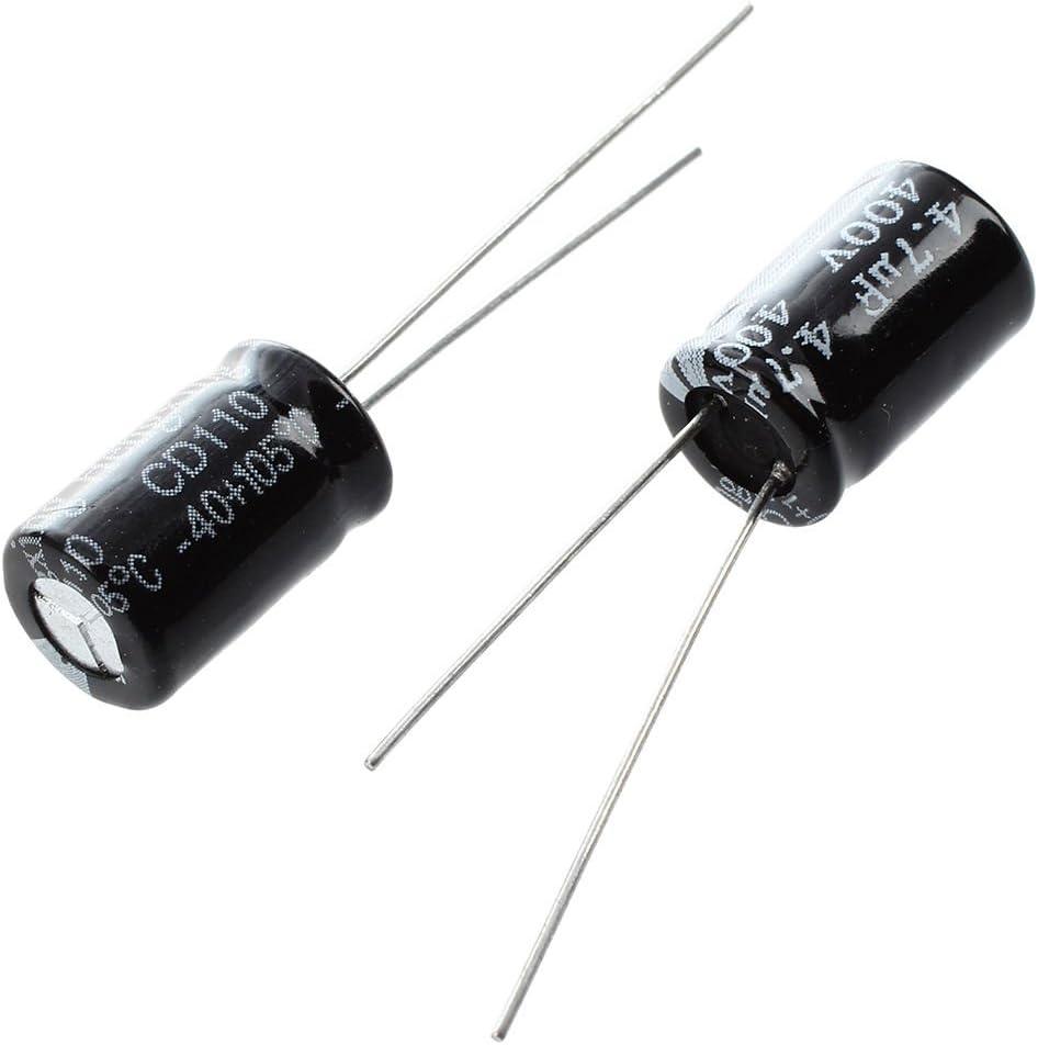 Tmand R 10 x 4.7uF 400V 105C Radial condensateur electrolytique 8x12m