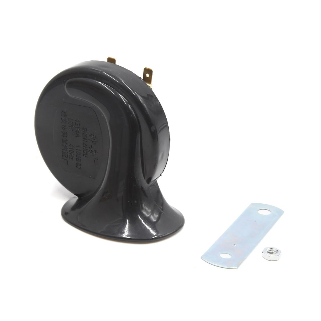 uxcell 12V 110dB 410Hz Snail Shaped Loud Electric Air Horn Siren for Car Motorcycle