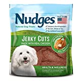 Nudges Jerky Cuts Dog Treats, Chicken Health & Wellness, 36 Ounce