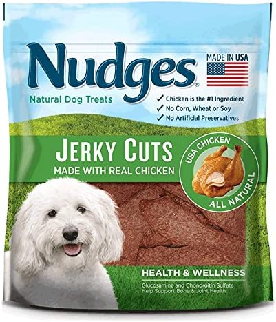 Nudges Health and Wellness Chicken Jerky Dog Treats