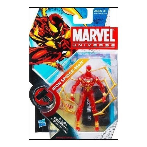 Variant Figure Series - Marvel Universe Iron Spider-man Clear Variant Action Figure Series 2 #021